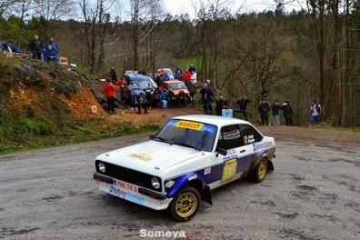 03 El belga Jacobs tercero en el 12 Rallye Solo Escort MKI MKII
