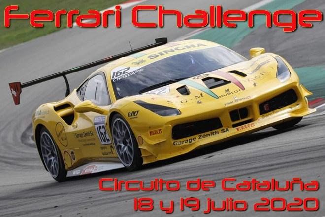 cartela ferrari challenge