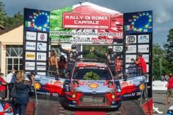 rallye roma capitale sordo podio hyundai wrc 2020