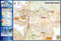 Publicados los tramos del Rallye de Ferrol