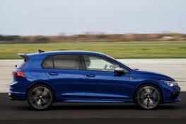 The new Volkswagen Golf R