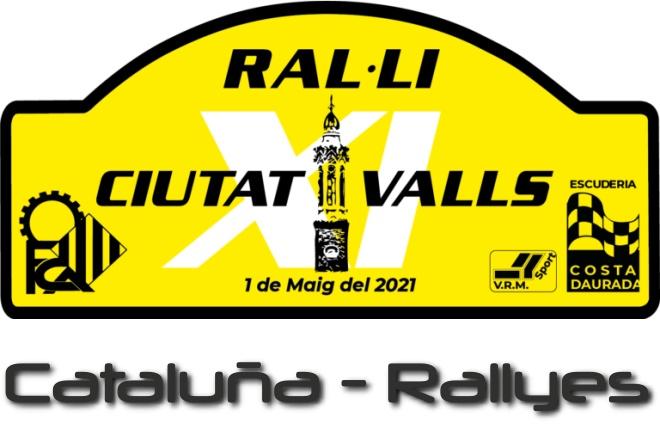 Rallye cdad valls placa 2021