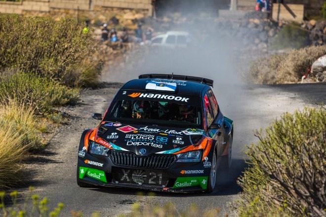 Rallye adeje 2021 Yeray Lemes c3 r5