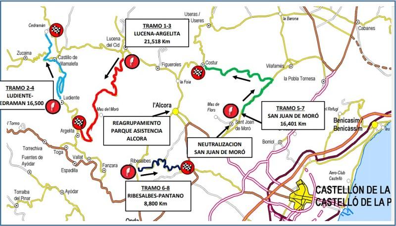 mapa planos rallye cerámica 2021