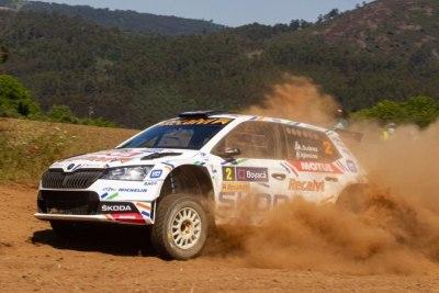 Cohete Suárez al frente del Nacional de Rallyes