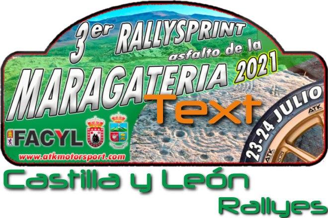Placa rallysprint maragatería 2021