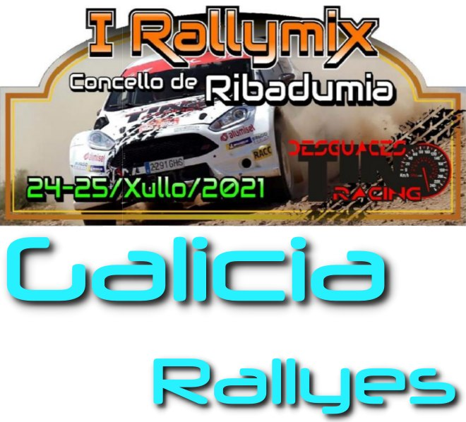 Rallymix Ribadumia placa 2021