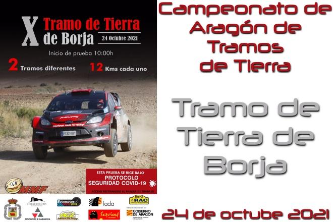 X Tramo Tierra Borja cartela