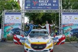 El joven catalán Gil Membrado se estrena a los 13 años en los Rallyes