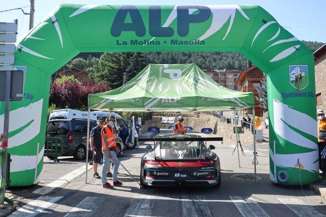 sb Alp 2500 salida porsche 2021