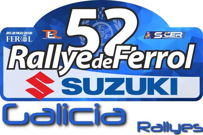 Placa 52 Rallye de Ferrol Suzuki