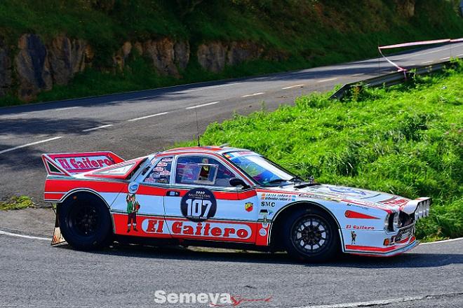 Bernardo Cardin con el Lancia 037 se despedía de los Rallyes despues de 40 años en activo