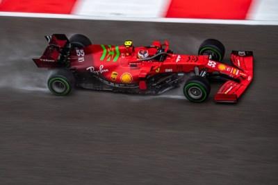 Carlos Sainz en primera fila de la parrilla del Gran Premio de Rusia