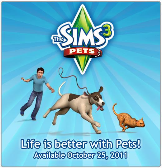 ¡La vida es mejor con mascotas! Disponible el 25 de octubre de 2011.