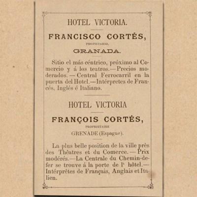 GUIA DE GRANADA POR FRANCISCO DE PAULA VALLADAR 1890