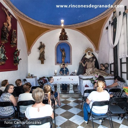 INTERIOR - ERMITA DE SAN SEBASTIÁN - ALMUÑÉCAR