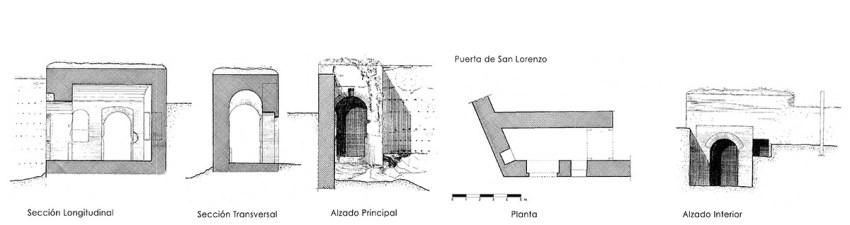 PLANOS - PUERTA DE SAN LORENZO