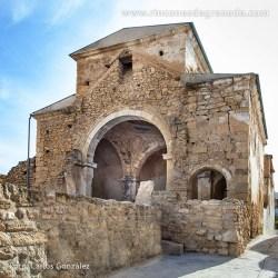 ERMITA DE LAS ANGUSTIAS DE ALHAMA Antes conocida como la ermita de la Santa Cruz