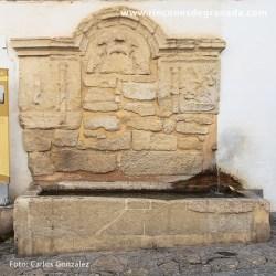 CAÑO DE WAMBA Uno de los pilares más antiguos de Alhama