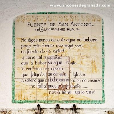 CHUMPANEIRA - FUENTE DE SAN ANTONIO -
