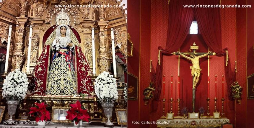 IGLESIA DE SAN CECILIO - GREÑUA - y - CRUCIFICADO