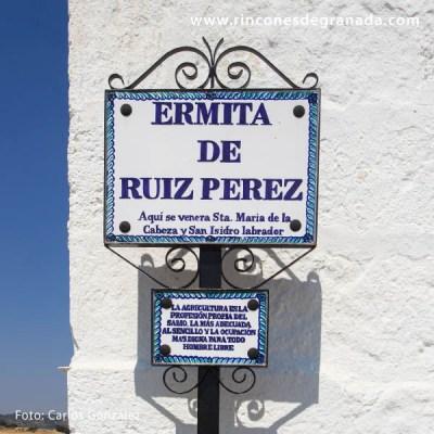 ERMITA DE SAN ISIDRO RUIZ PEREZ