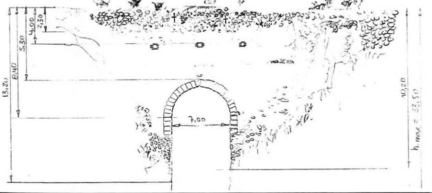Puente de Tablate - croquis