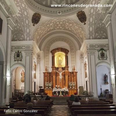 ALTAR MAYOR - IGLESIA DE NUESTRA SEÑORA DE GRACIA - GRANADA