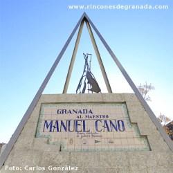 MONOLITO HOMENAJE A MANUEL CANO