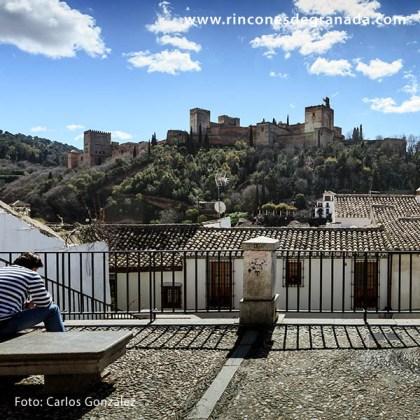 Alhambra desde el mirador de la placeta de Carvajales