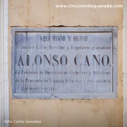 CASA DE ALONSO CANO - CALLE SANTA PAULA
