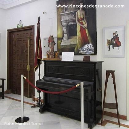 PIANO - CENTRO ARTÍSTICO LITERARIO Y CIENTÍFICO DE GRANADA