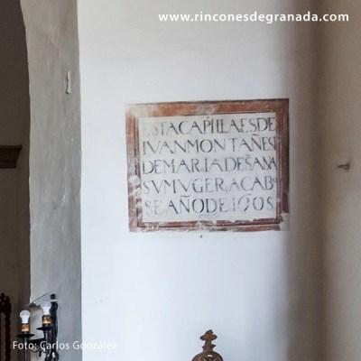 CAPILLA DE JUAN DE MONTAÑÉS - IGLESIA DE SAN ANTONIO - LOBRES