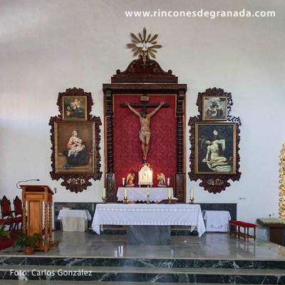 ALTAR MAYOR - IGLESIA DE NUESTRA SEÑORA DEL CARMEN - BENALÚA 002