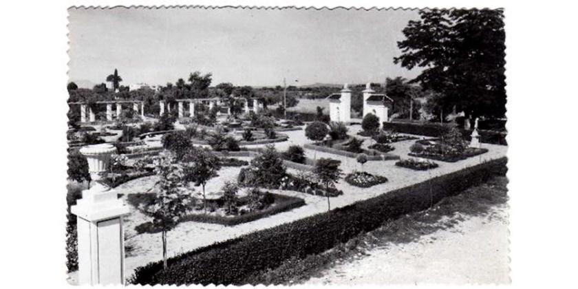 PARQUE MUNICIPAL MANUEL RODRÍGUEZ PENALVA - HUÉSCAR - 1951