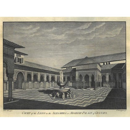 Patio De Los Leones Rincones De Granada Alhambra Y Generalife