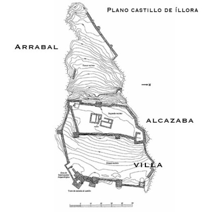 PLANO - CASTILLO DE ÍLLORA