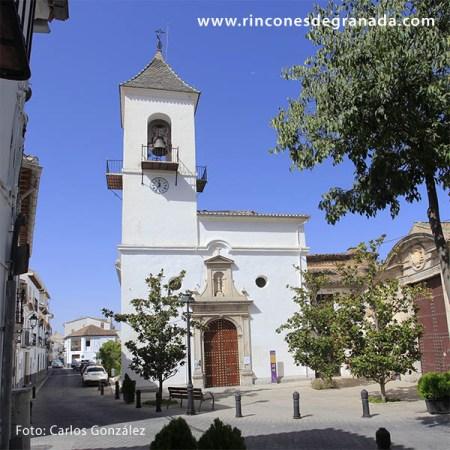 Iglesia parroquial de Víznar