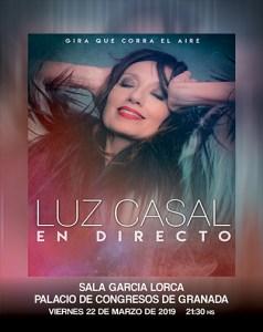 """Luz Casal """"Que Corra el Aire"""" en Granada"""
