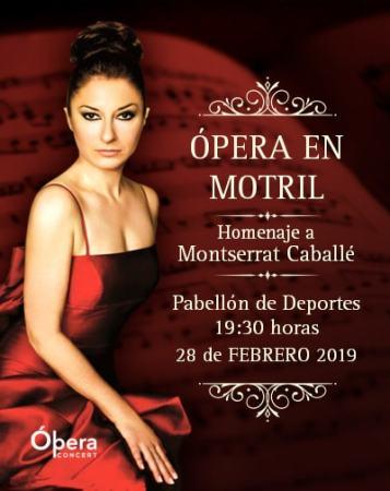Homenaje a Montserrat Caballé en Granada @ PABELLÓN MUNICIPAL DE DEPORTES DE MOTRIL
