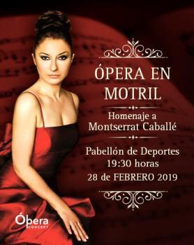 """Concierto Concierto Lírico """"Homenaje a Montserrat Caballé en Granada"""