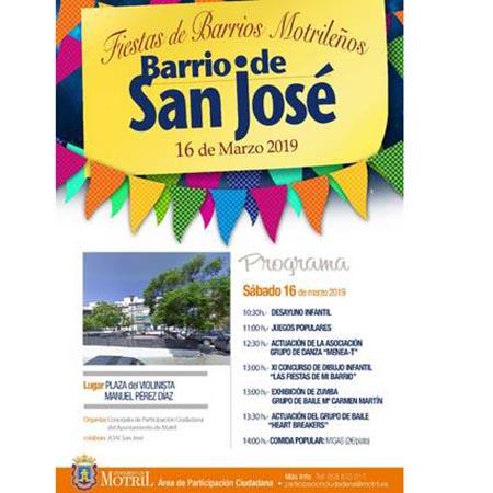 Fiestas de San José 2019 - Motril @ Barrio de San José, Motril