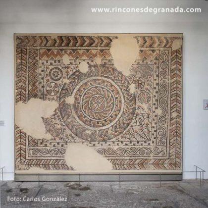 MUSEO ARQUEOLÓGICO Y ETNOLÓGICO DE GRANADA - MOSAICO VILLA DE LOS MONDRAGONES
