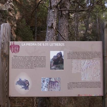 Piedra del Letrero - Abrigo de los Santos Mártires - Foto: Manuel Millán Herce Pagliai