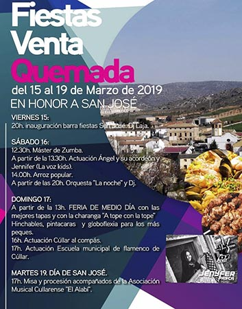 Fiestas en honor a San José - Venta Quemada