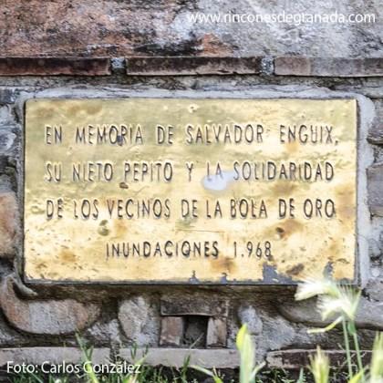 PLACA - ESCULTURA EN MEMORIA A SALVADOR ENGUIX Y PEPITO