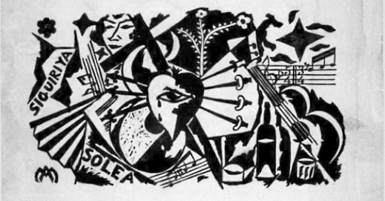 CARTEL CERTAMEN DE CANTE JONDO 1922