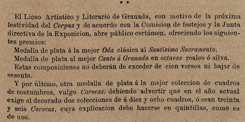 CONCURSO DE CAROCAS