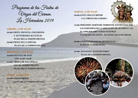 Fiestas de la Virgen del Carmen - La Herradura @ La Herradura