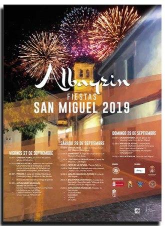 FIESTAS DE SAN MIGUEL 2019 - ALBAYZIN @ Barrio del Albaicín (Granada)